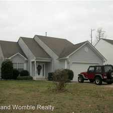 Rental info for 3015 Waterjump Crescent in the Suffolk area
