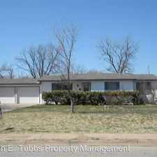 Rental info for 4800 Pasadena in the Wichita Falls area