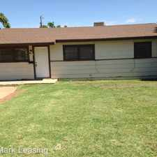 Rental info for 5018 39th Street in the Lubbock area