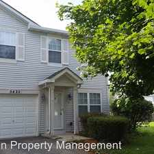 Rental info for 5422 Sun Valley Dr