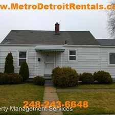 Rental info for 21706 Rausch in the 48021 area