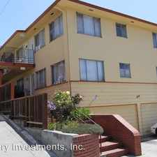 Rental info for Warwick Ave. in the Oakland area