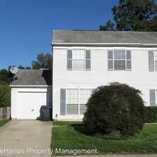 Rental info for 801 Indian Head Ave