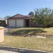 Rental info for 11048 MIDDLEDALE in the El Paso area