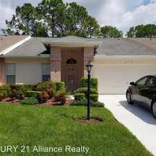 Rental info for 2316 Hidden Trail Drive in the 34608 area