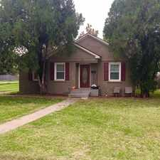 Rental info for 2611 30th Street in the Lubbock area
