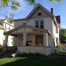 Rental info for 1317 6th St SE -House in the Minneapolis area