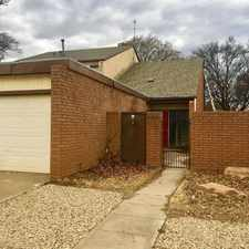 Rental info for 7918 A Albany Avenue in the Lubbock area