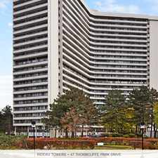 Rental info for Rideau Towers
