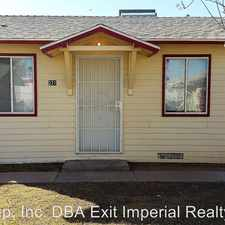 Rental info for 221 D St. in the Brawley area