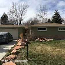 Rental info for 4625 Saulsbury Street in the Denver area
