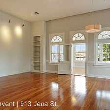 Rental info for 913 Jena Unit 4 in the Uptown area