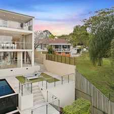 Rental info for SPECTACULAR LARGE FAMILY HOME ON THE RIVER in the Indooroopilly area