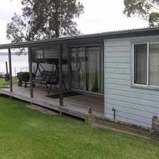 Rental info for Boatshed for lease - Incl water usage and lawn mowing