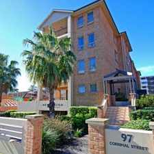 Rental info for Two bedroom apartment in security complex in the Wollongong area