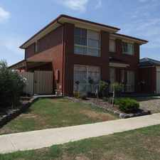 Rental info for 4 BEDROOM HOUSE IN DARLINGSFORD - WALK TO BOTANIC GARDENS in the Melton area