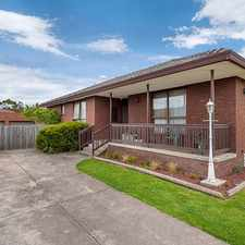 Rental info for Well kept home with spacious living in the Craigieburn area