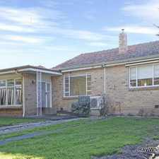 Rental info for WALK TO PLENTY RD TRAM - GARDENER INCLUDED! in the Melbourne area