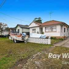 Rental info for FOR LEASE in the Hurstville Grove area