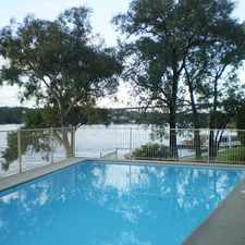 Rental info for Peaceful Apartment Enjoying a Waterfront Reserve Position in the Chiswick area
