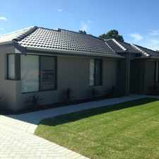 Rental info for *** MODERN FRONT VILLA *** in the Perth area
