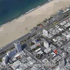 Rental info for 1117 3rd Street 03 in the Los Angeles area