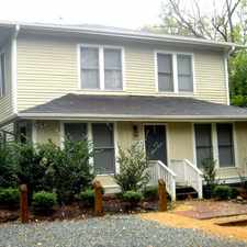 Rental info for 413 Hillsborough Street #A in the Chapel Hill area
