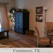 Rental info for Pet Friendly 3+2 Apartment in Commerce. Pet OK!