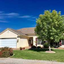 Rental info for 1340 Baneberry Drive in the St. George area