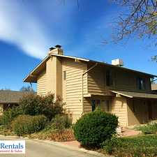 Rental info for 221 Pawnee Drive in the Martin Acres area