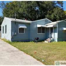Rental info for This nice three bed one bath has been recently rehabbed. It sits on a nice quiet its lot. It is freshly painted and is well ventilated. Lots of natural light coming in the house. It has fenced backyard. in the Panama Park area