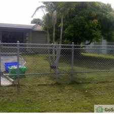 Rental info for Nice and bright 4beds 2 baths in the Fort Lauderdale area