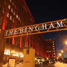 Rental info for The Bingham in the Cleveland area