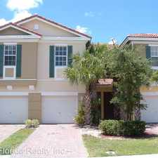 Rental info for 933 Pipers Cay Drive