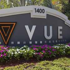 Rental info for Vue at 1400