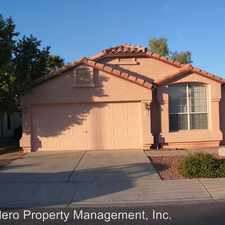 Rental info for 1170 W Lark Dr in the Clemente Ranch area