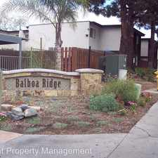 Rental info for 5402 Balboa Arms Unit 307 in the Clairemont Mesa East area