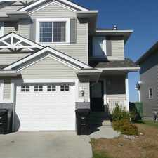 Rental info for SHERWOOD PARK TOWNHOUSE