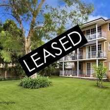Rental info for LEASED BY RAY WHITE ERMINGTON | 9898 1822 in the Parramatta area