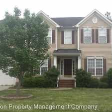 Rental info for 2520 Hampton Glen Ct in the Indian Trail area