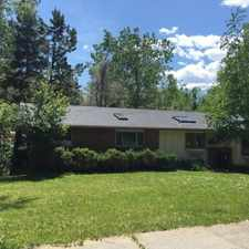 Rental info for Spacious 1,650 square foot 2 bedroom duplex rental in a quiet north Boulder neighborhood
