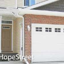 Rental info for 3010 33 Avenue NW - 2 Bedroom Townhome for Rent in the Silver Berry area