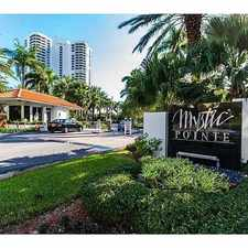 Rental info for 19195 Mystic Pointe Drive #1502 in the Sunny Isles Beach area