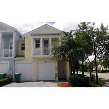 Rental info for 10712 Northwest 77th Street #10712 in the Hialeah area