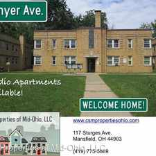 Rental info for 100 Blymyer - 13 in the Mansfield area