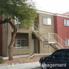 Rental info for 4730 E Craig Rd #1013 in the North Las Vegas area