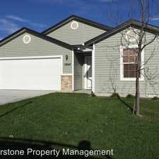 Rental info for 11848 Webster St in the Caldwell area
