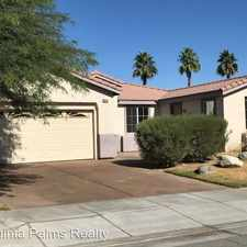 Rental info for 80814 Megan Ct. in the 92253 area