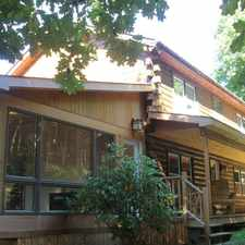 Rental info for Adirondack Style Log Home For Rent