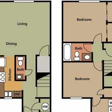 Rental info for Attractive 2 bed, 1.50 bath